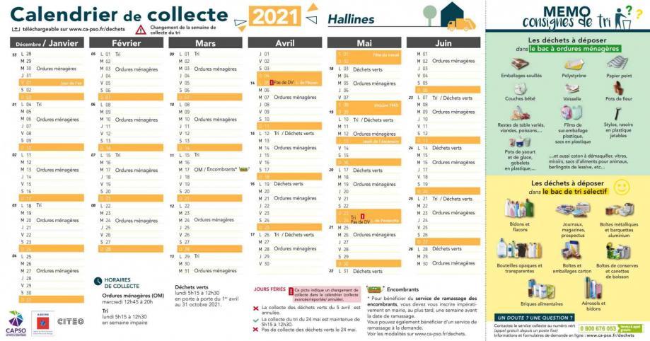 Hallines collecte 2021 1