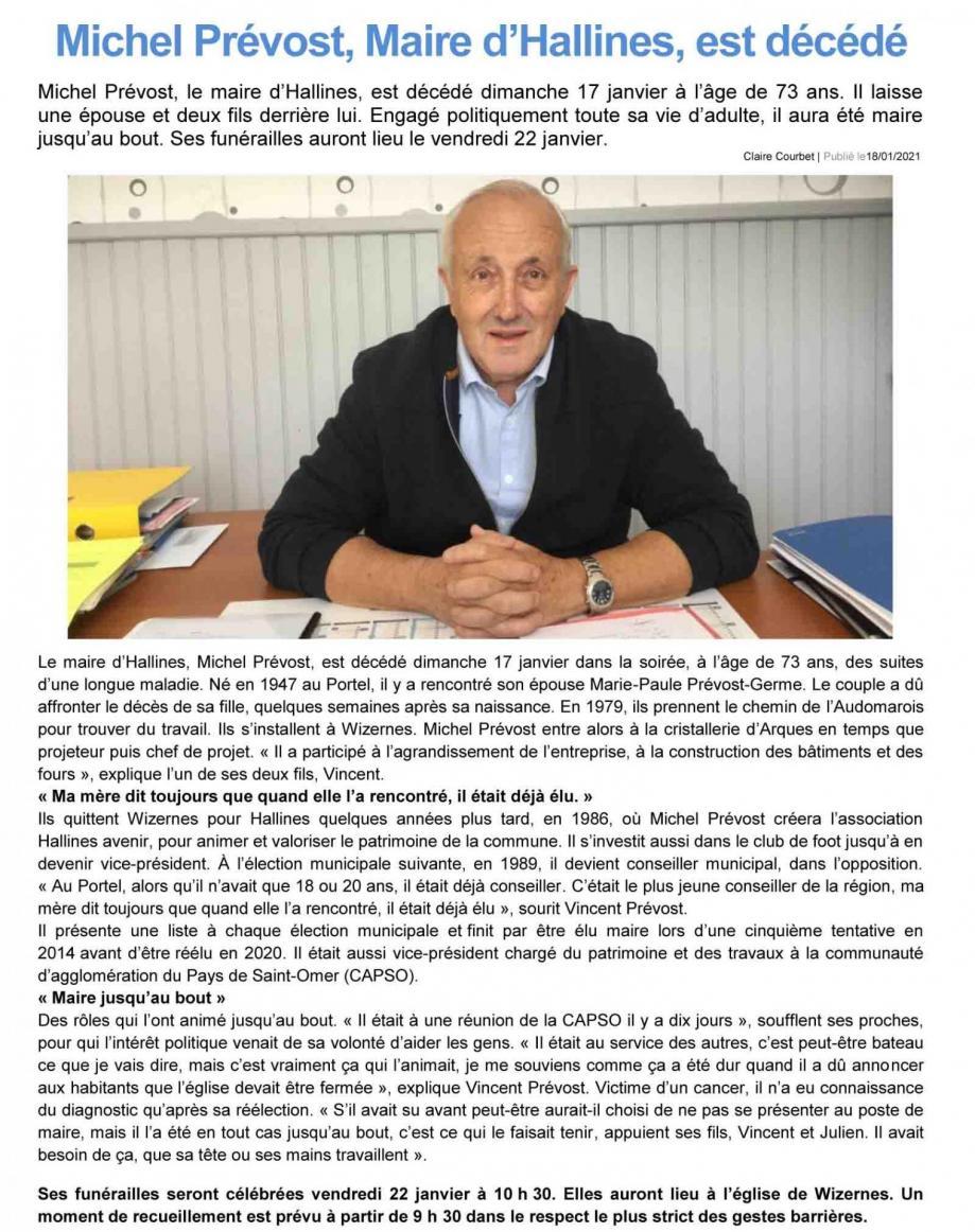 Michel prevost