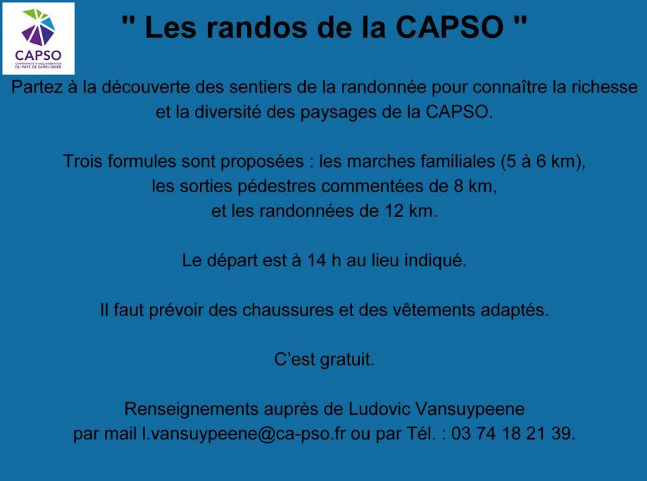 Programme sorties pedestres 2018 capso 1